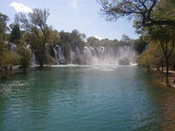 Kravice waterfalls