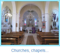 Churches, chapels...