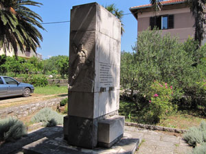 Monument to the victims of Second World War